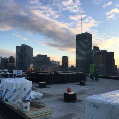Membrane toiture à Laval